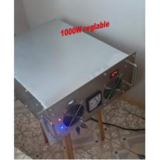 Emetteur FM stéréo 1000w réglable