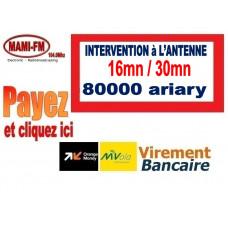 Intervention à l'antenne 16min / 30min