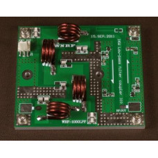 Low pass filter 1000W 76M-108MHz